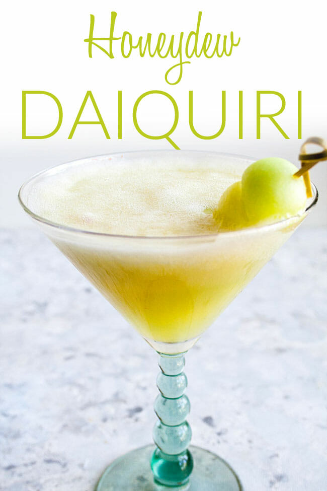 Honeydew Daiquiri photo with text.