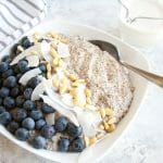 Spiced Chia Seed Porridge