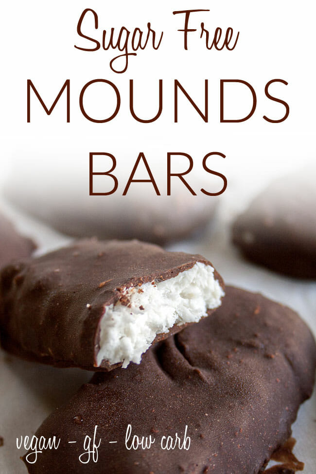 Chocolate Coconut Bars photo with text.