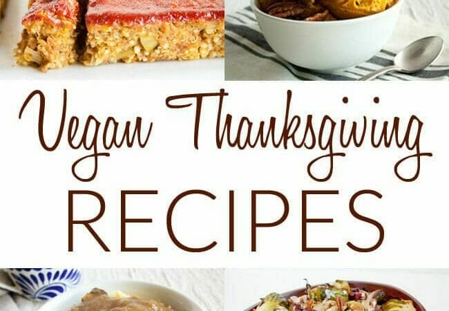 Vegan Thanksgiving Recipes