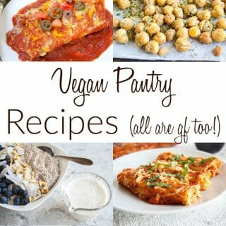 Vegan Pantry Recipes