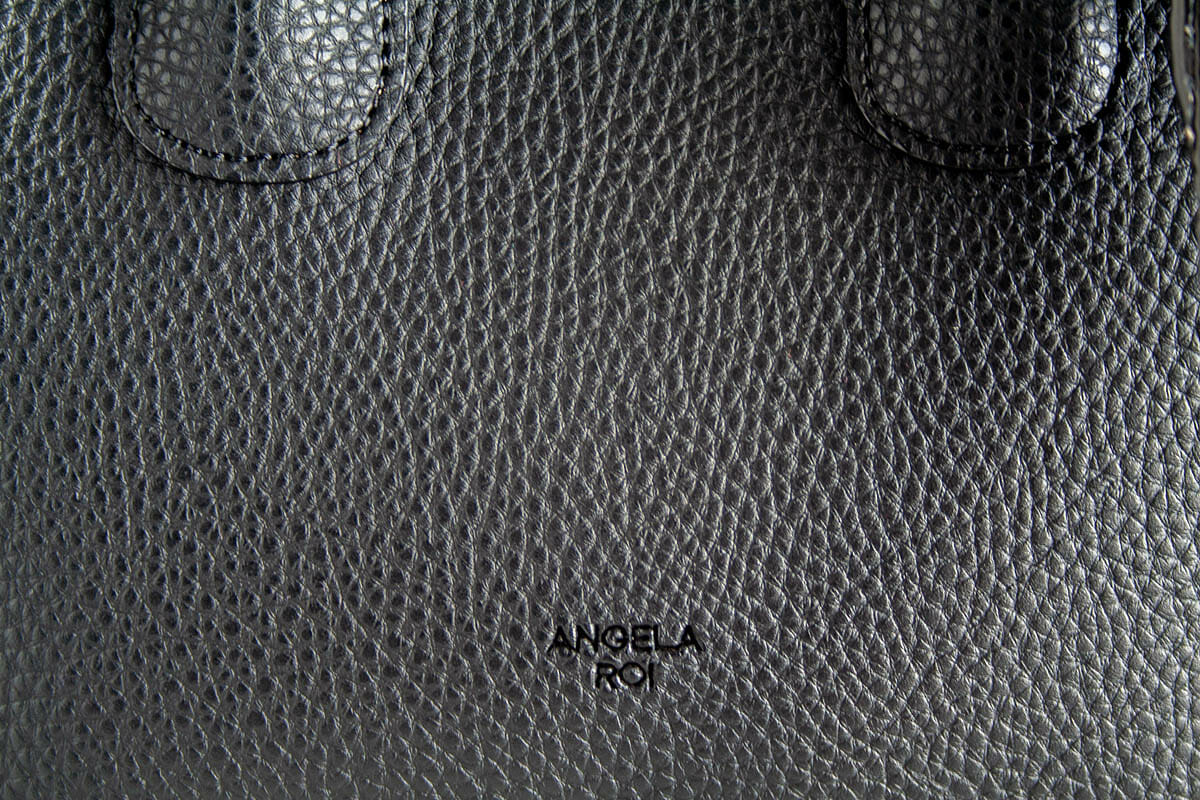 Close up of Cher Micro showing the texture of the bag