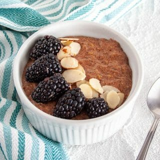 Chocolate Flaxseed Porridge