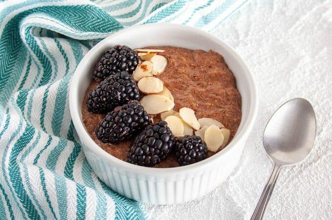 Chocolate Flaxseed Porridge