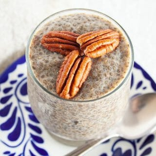 Gingerbread Chia Pudding