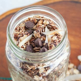 Chocolate Coconut Granola