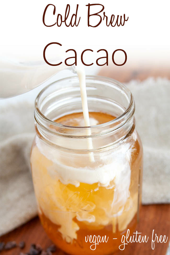 Cold Brew Cacao photo with text.