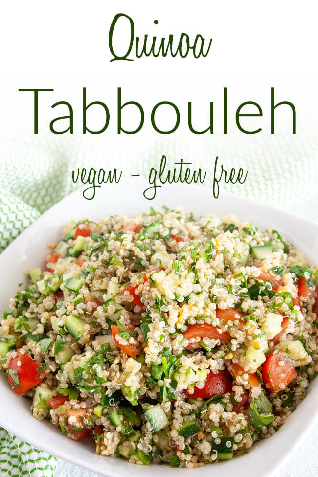 Quinoa Tabbouleh photo with text.