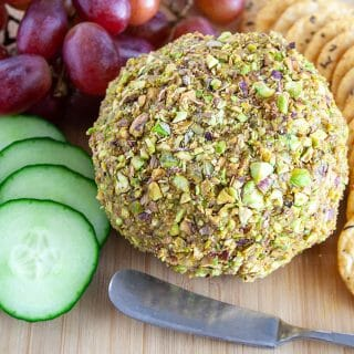 Smoky Vegan Cheese Ball