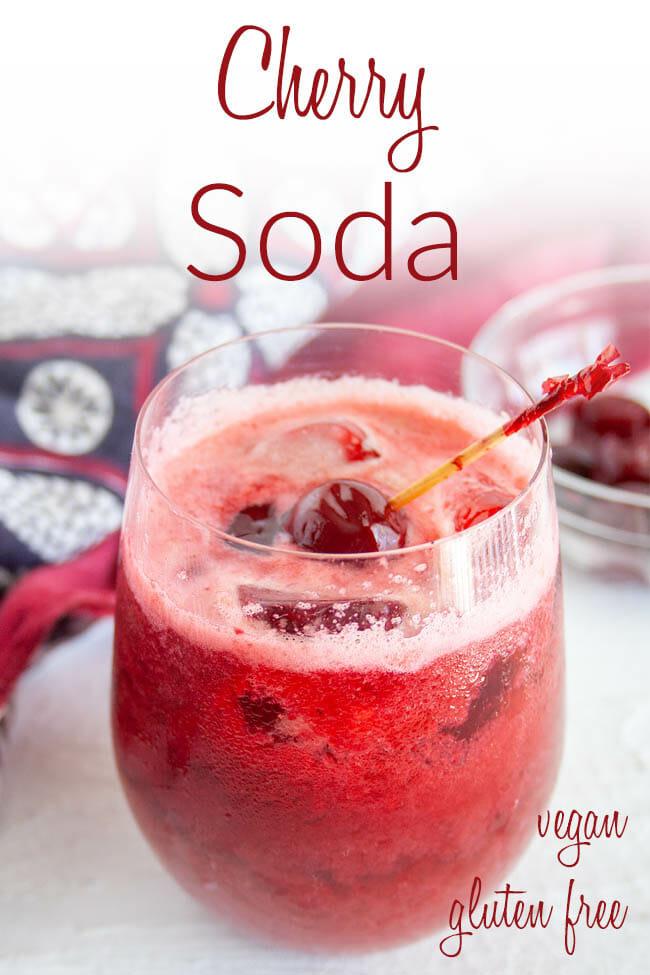 Cherry Soda photo with text.